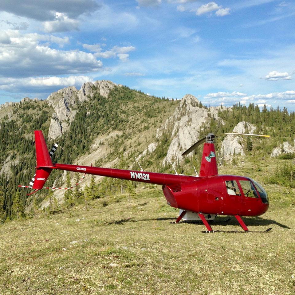 Fairbanks Alaska helicopter transportation
