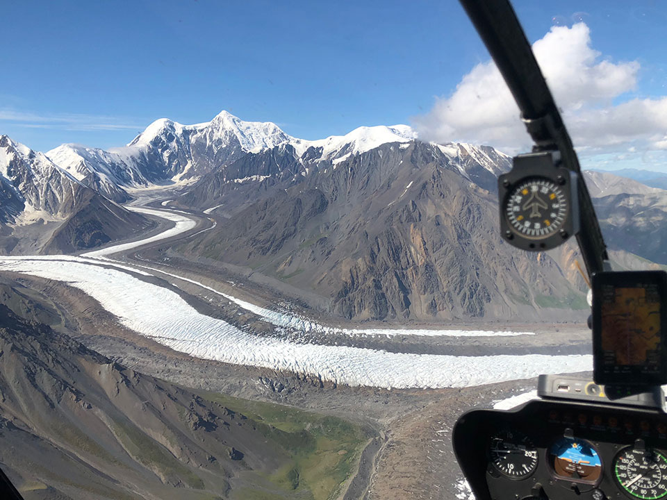 Helicopter charters - mountain and glacier access